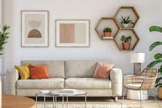 Revitalize Your Living Room With Unique Wall Decor
