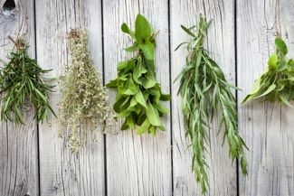 Fill Your Pantry With Home-Dried Herbs