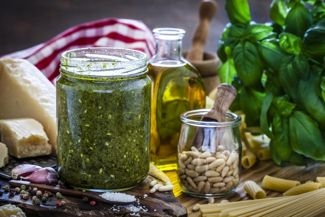 Simple Basil Pesto for Outstanding Pasta
