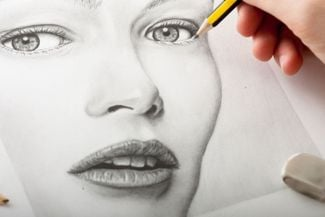 Learning How To Draw Lips