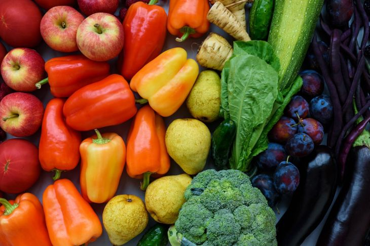 Vegetables come in all colors