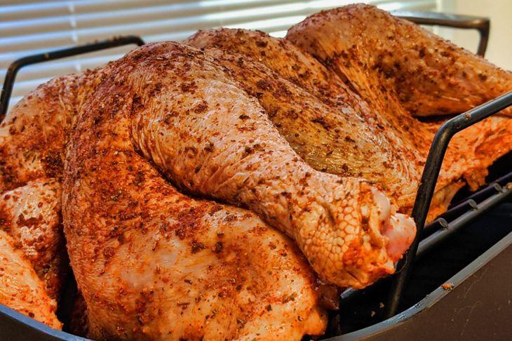 pre-brined turkey rub