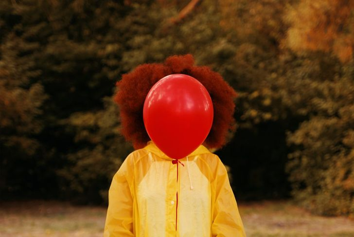 Georgie from IT red balloon paper boat raincoat DIY Halloween costume