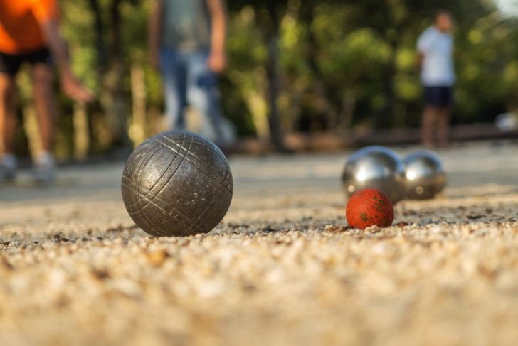 bocce balls game