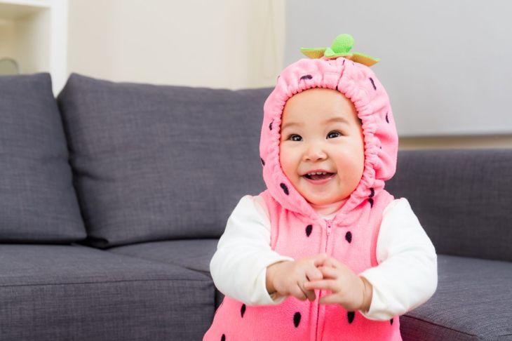 child strawberry costume