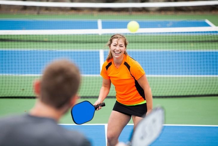 pickleball doubles court