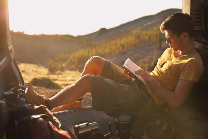 Escape with a good book