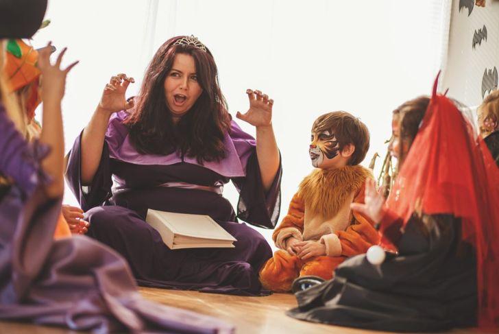 children's fairy tale halloween