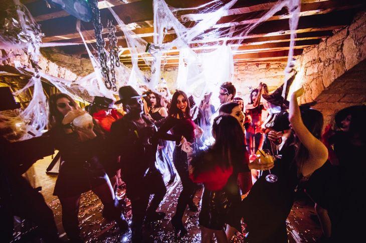 halloween party costume dance