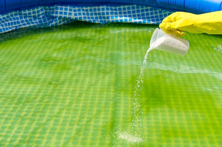 baking soda natural pool additive