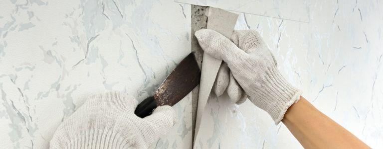 Tips for Removing Stubborn Wallpaper