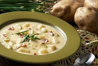 How to Make the Richest Potato Soup