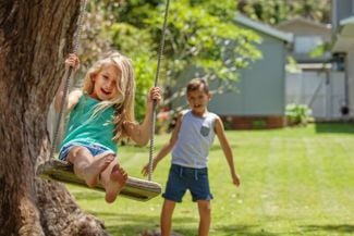 Tempt Your Inner Child With These DIY Swing Sets