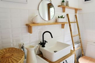 Design Inspiration for Your Small Bathroom