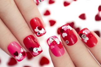 Nail Art Ideas for Valentine's Day