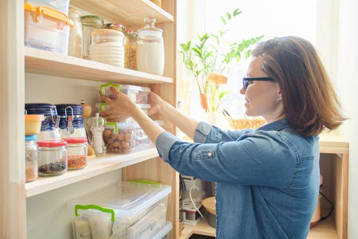 pantry, food, storage