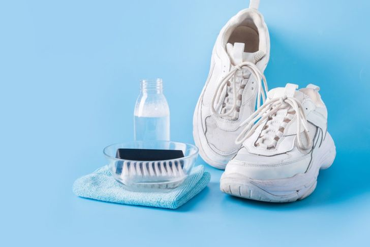 Bleach Shoes White Mixture Ingredients