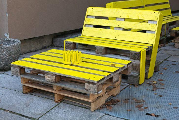 Pallets use decent wood