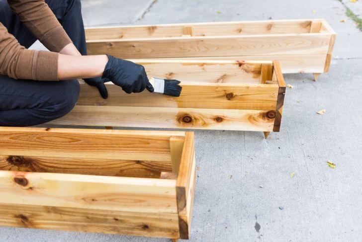 versatile garden wheels cedar planks