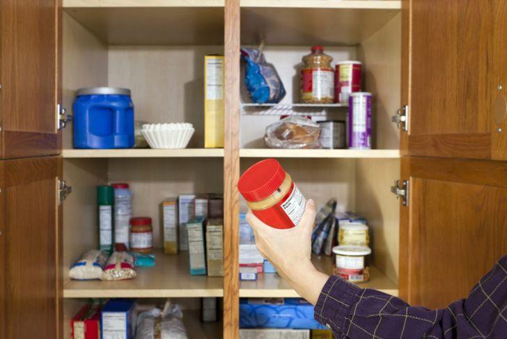 kitchen, pantry, food