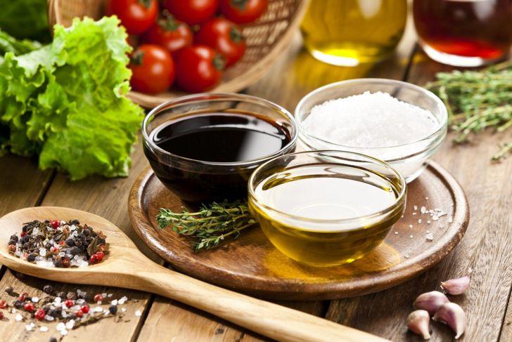 olive oil vinegar marinade