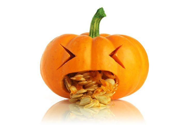 cute pumpkin guts