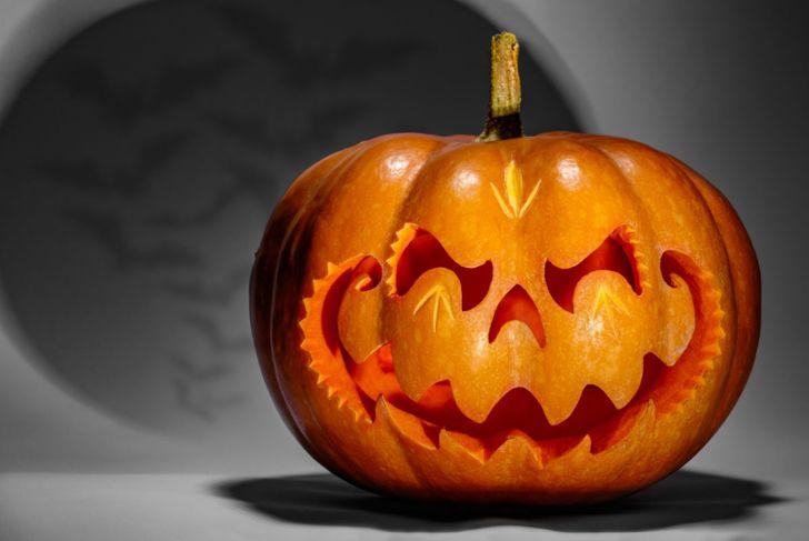 pumpkin smile shadow