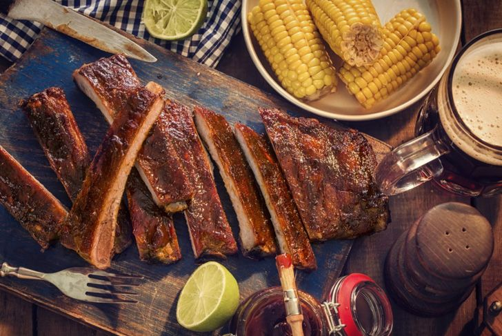 succulent rib juices rest meat