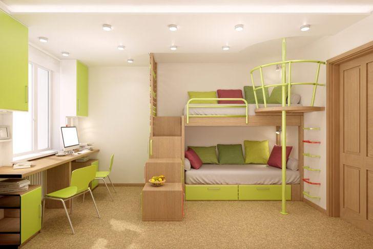 dorm, room, color, decor