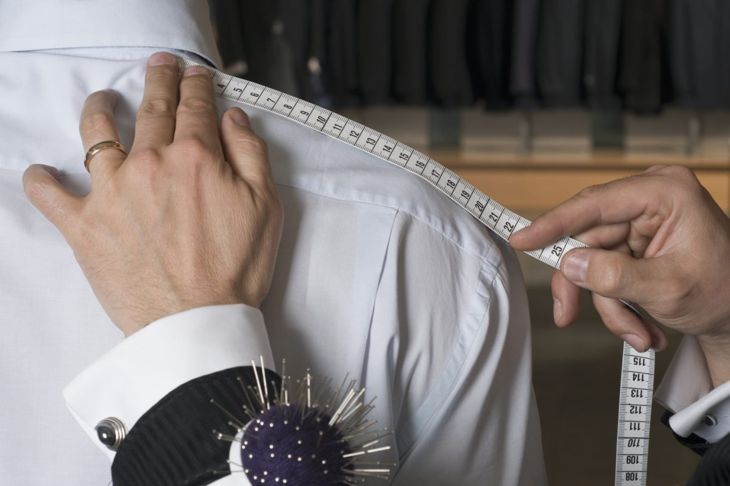 Tailors use measuring tapes