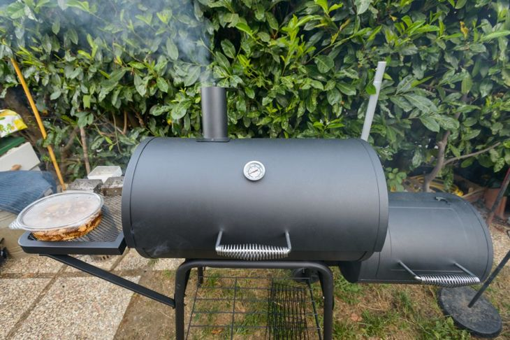 grill prep temperature smoker