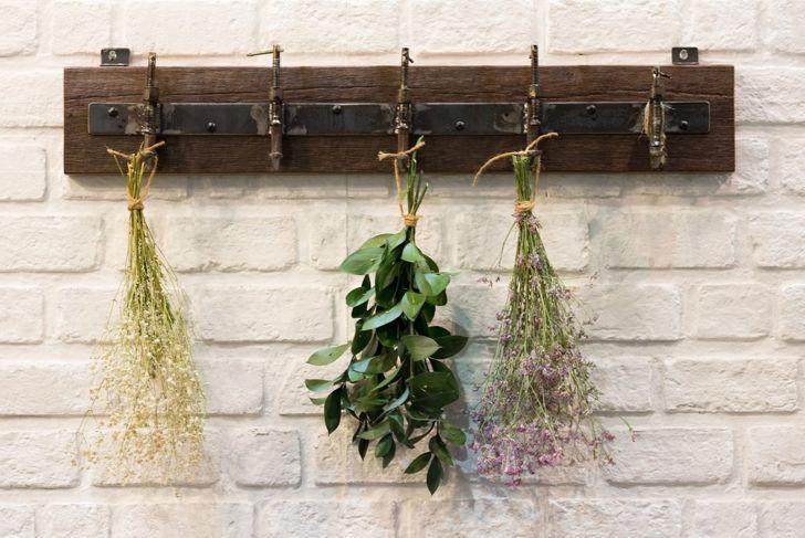 single rack useful wall hooks