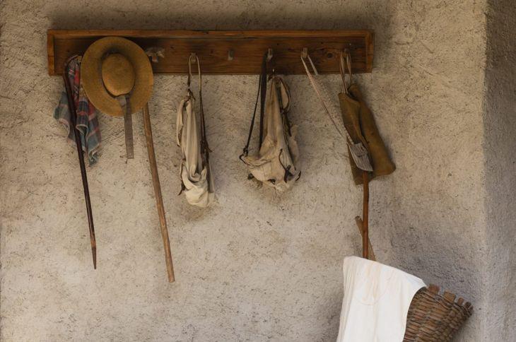 rustic hook board