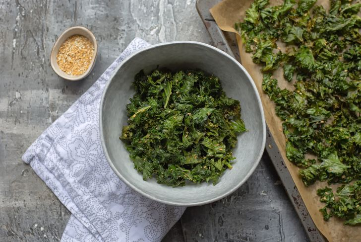 seasoning kale chips