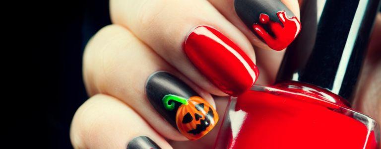 Drop-Dead Gorgeous Halloween Nail Art