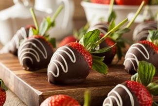 At-Home Desserts: Chocolate-Covered Strawberries