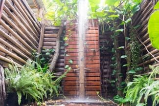 Wash Away Your Worries In An Indulgent Outdoor Shower
