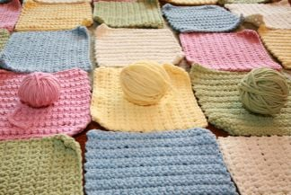 Pattern Inspiration For a Crocheted Baby Blanket