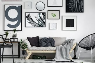 Picture Wall Ideas for a Homey Exhibit