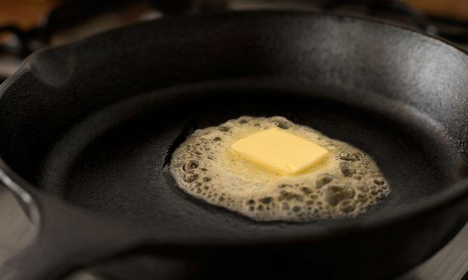 5. Melt the butter.