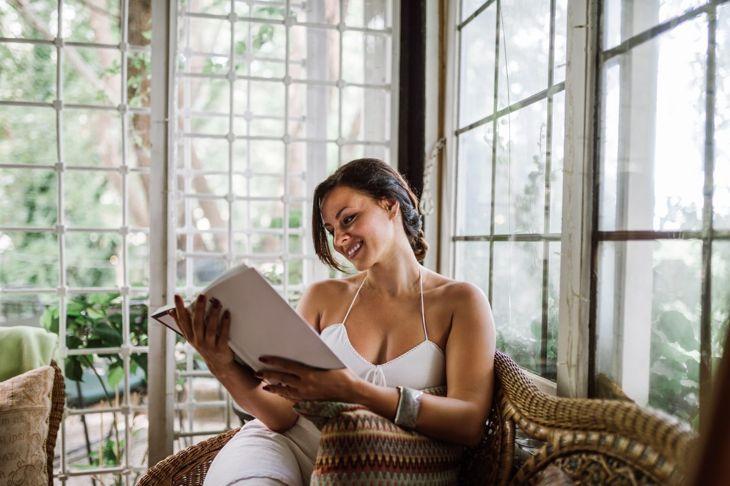 Sunroom reading