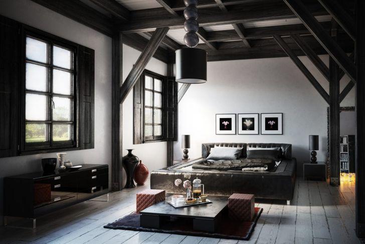 Black and grey color scheme