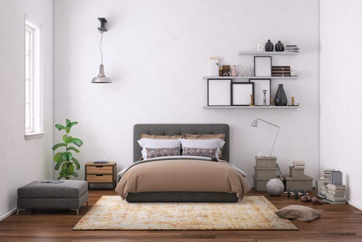 Low bed and furniture