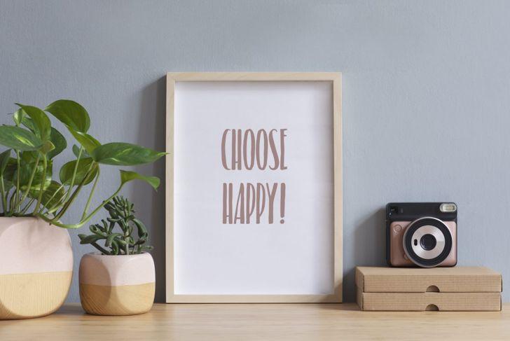 positive message, cubicle decoration