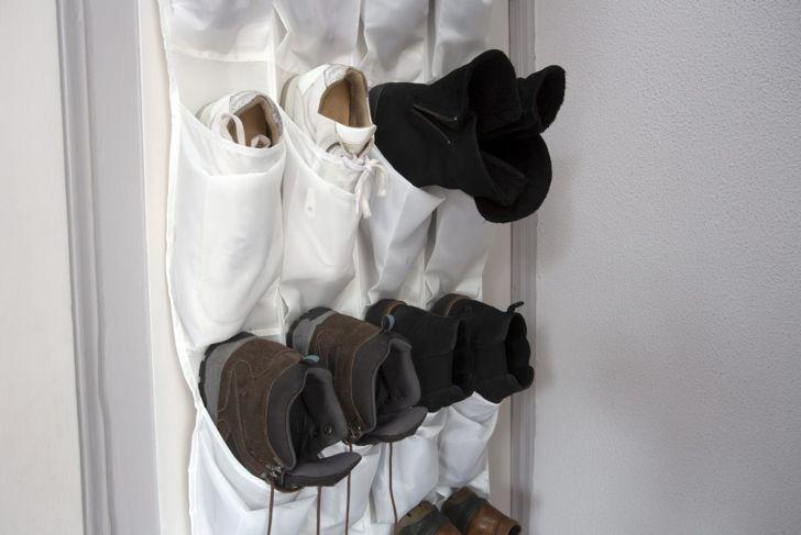 Vertical Shoe Storage On Door