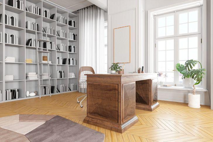 desk, home office