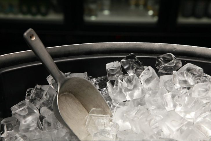 Clear ice makers are pricey