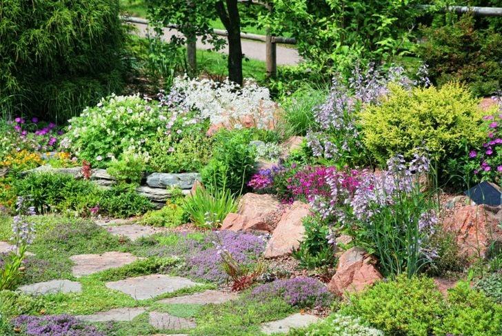 precise detailed english garden