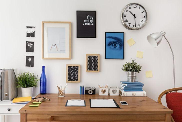 home office, repurposed