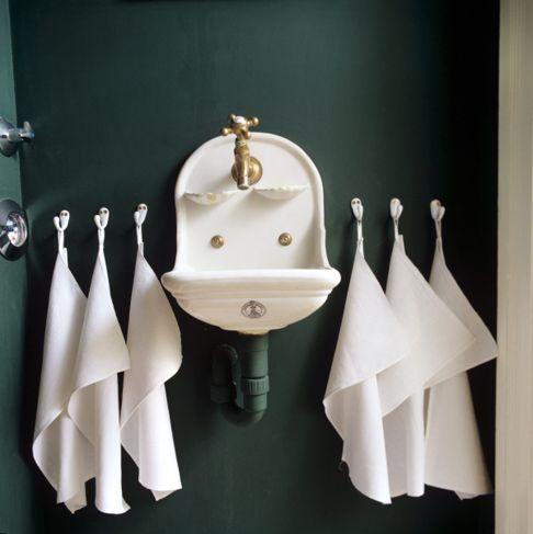 wall hook, bathroom storage